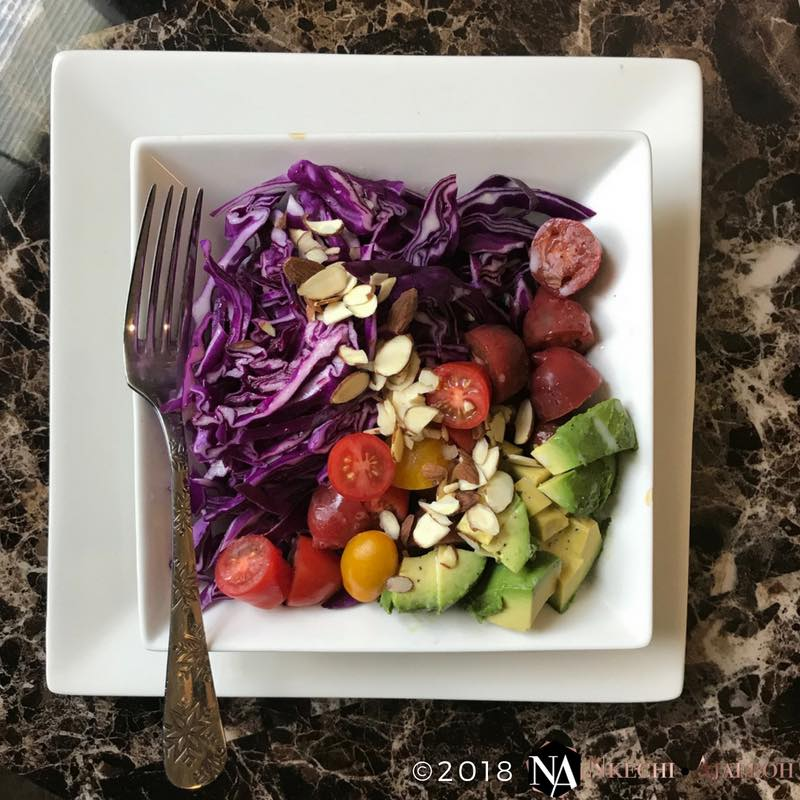 Super Simple Tomato Avocado Salad Recipe With Coconut Oil Vinaigrette
