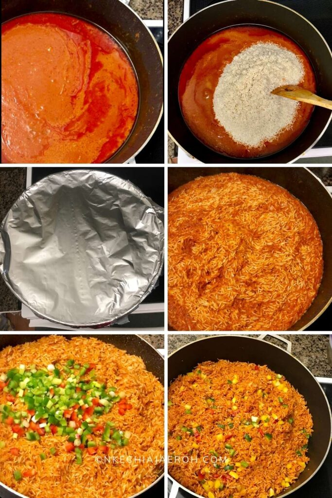 Step by step instructions of making this dish
