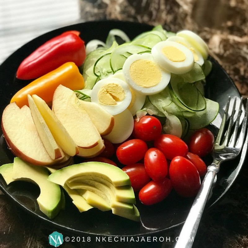 Simple Healthy And Fresh Farmer's Market Salad Recipe