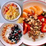 Yogurt bowl is an easy healthy breakfast that is packed with proteins, flavors, and deliciousness! Simply add any topping of choice, such as granola, fruits, or nut butter! Yogurt bowls are easy, cheap, nutritious, and make for an excellent breakfast when you are in a hurry! Say no to skipping breakfast!