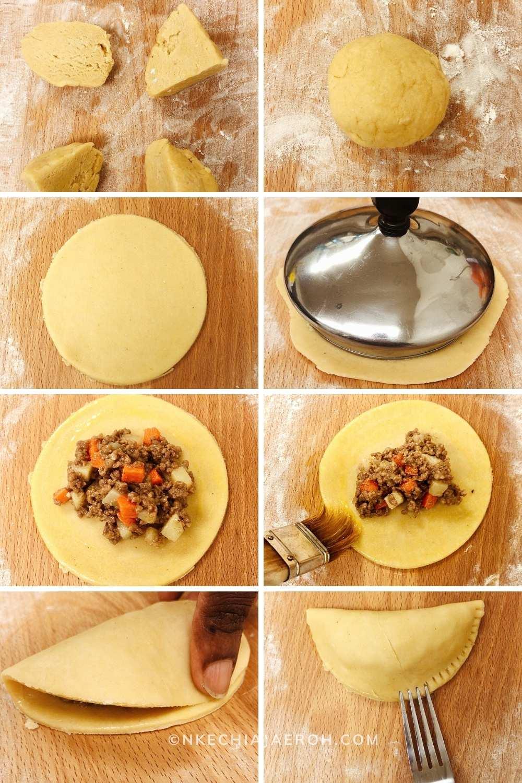 How To Make Classic Nigerian Meat Pie Nkechi Ajaeroh