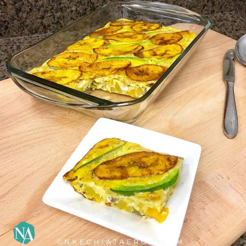 How to Make Perfect Plantain and Eggs Frittata