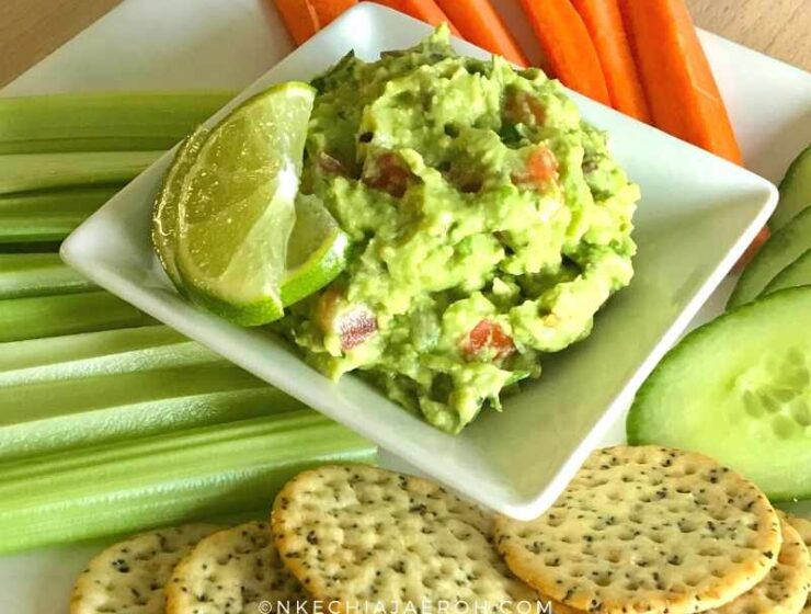 whether you are just hosting your family members, friends, the entire village, this tray of goodness is a great place to start, trust me. Whether you are just looking for some exciting side dishes, this will work as well. Take your guest-entertainment to the level with this recipe. This quick and easy guacamole recipe is super easy to make. Guacamole isn't just for dips; you can use it them for so many things as you can see.