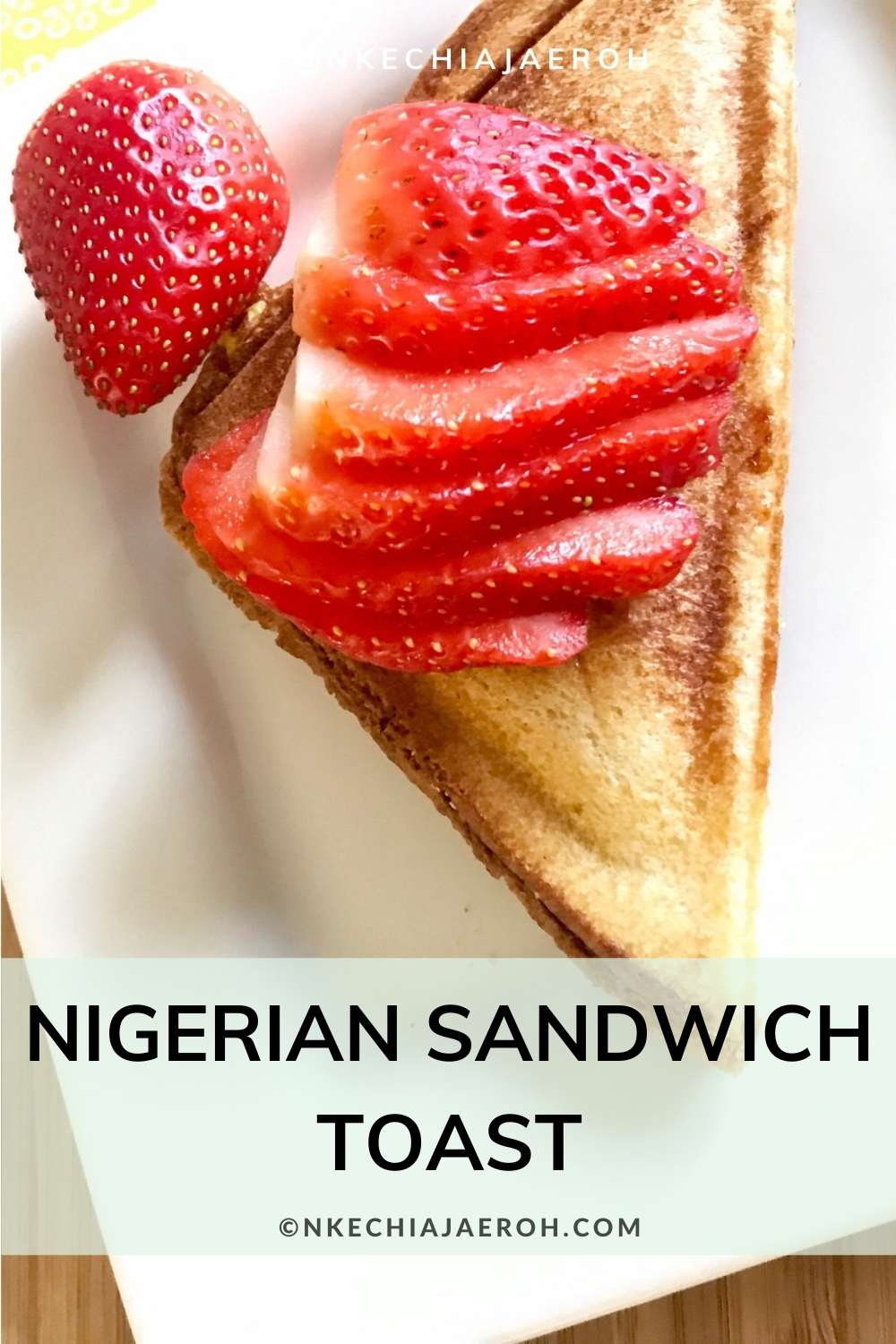"""How to make Nigerian Sandwich Toast. To make sandwich toast, first, make your filling. I typically like to use egg filling; this means I will scramble some eggs with my choice of vegetables and set it aside. Finally, I """"sandwich"""" this filling in between two bread and then toast it using a sandwich toaster maker."""