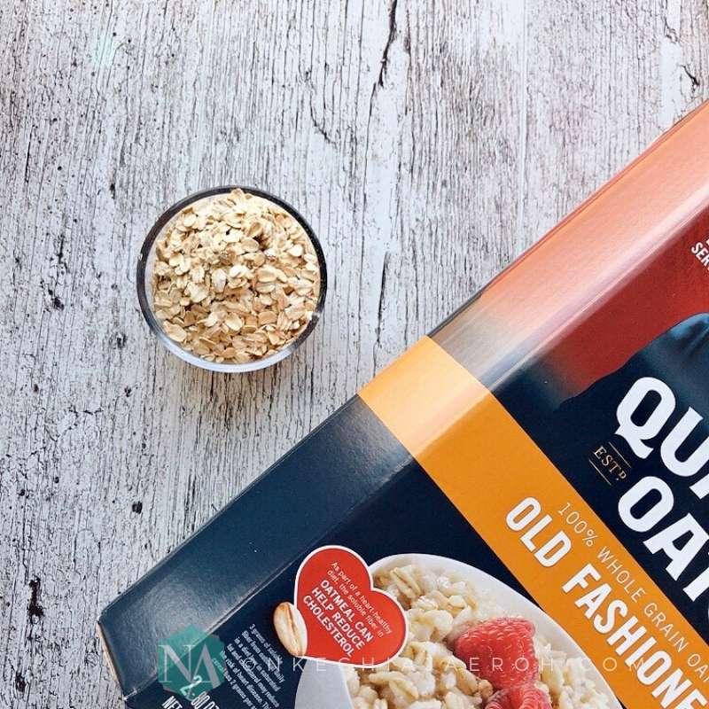 Warm and creamy coconut milk oatmeal recipe