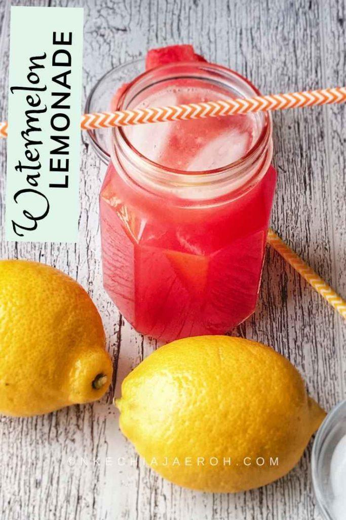 Immune-boosting lemonade