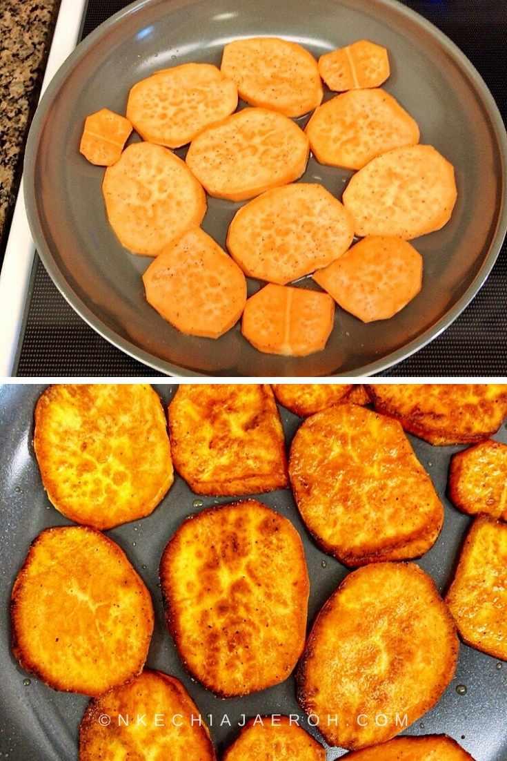 Process photo for Sweet Potato Taco