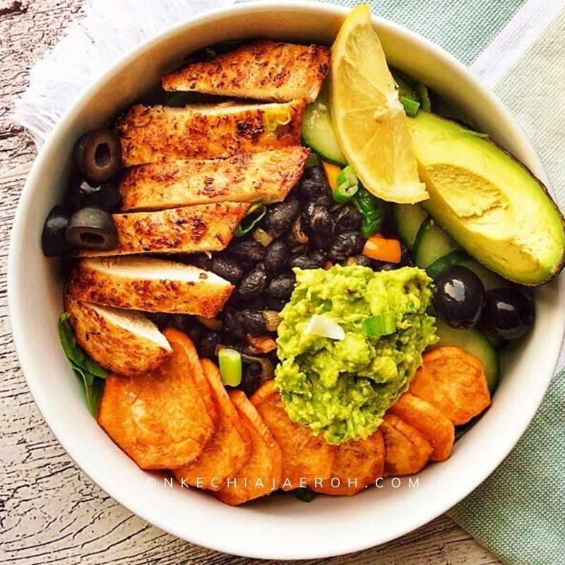 Healthy and delicious Taco bowl recipe
