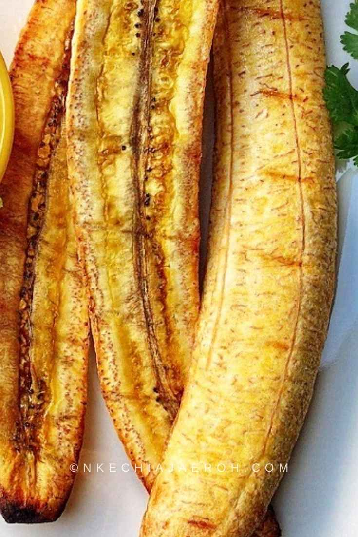 Nigerian Boli roasted in open fire or oven roasted/baked is always yummy and insanely delicious!