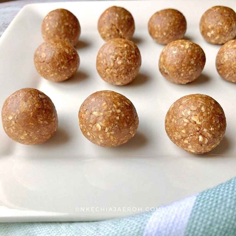 It won't be a big deal if you desire to enjoy these energy balls just like these. These snack balls taste great this way; the second baking makes them last longer (in my opinion) and adds some tan and color. These healthy oatmeal balls will not disappoint even you choose not to bake them a second time.