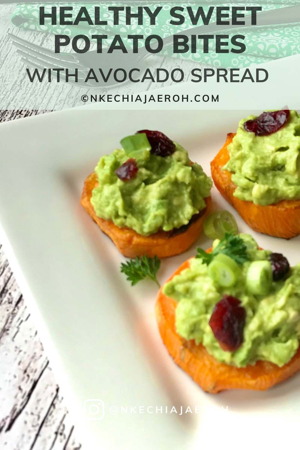 Healthy baked sweet potato avocado bites - vegan, gluten-free, low carb, and easy to make! These sweet potato cups are the easiest foods to cook, and they are loaded with guacamole. Perfect combo for the best appetizer, side dish, snacks, these vegan roasted sweet potato rounds, smashed avocado are just the best finger foods. and a healthy and delicious appetizer, snacks, side dish, or meal! #sweetpotato #Bakebites #sidedish #appetizer #healthyappetizer #sweetpotatoside #guacamole