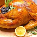 This oven-baked Thanksgiving roasted turkey recipe is an easy and no fuss turkey recipe and tips!