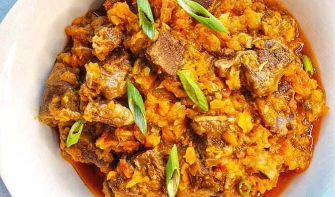 Learn how to make the best Nigerian peppered meat recipe with beef tongue
