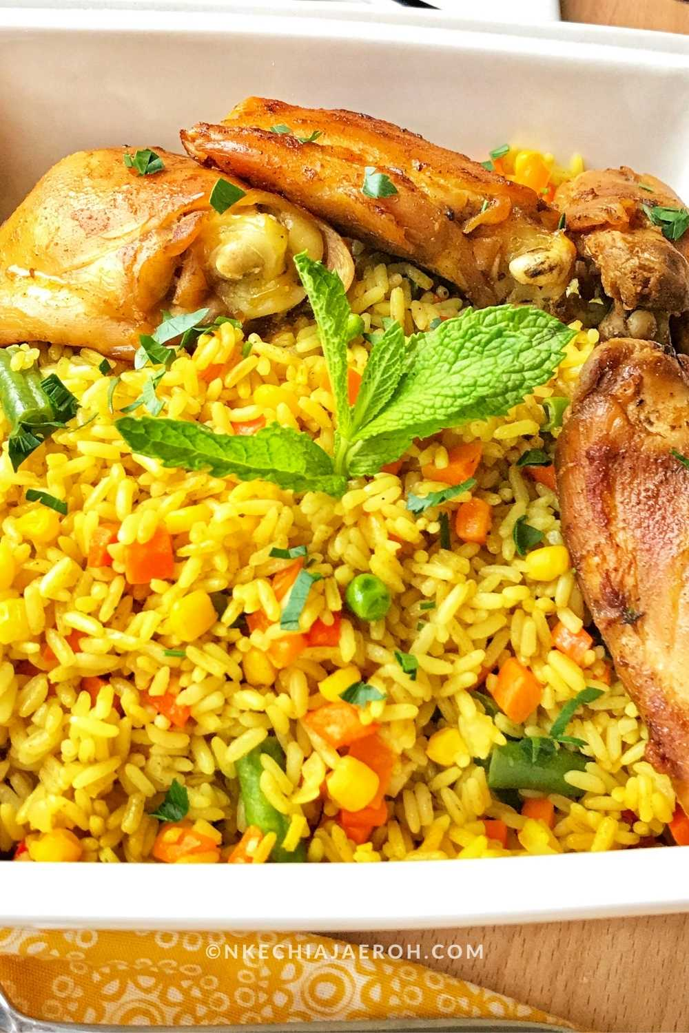 How to make Healthier and Easier Nigerian Fried Rice Recipe Nigerian fried rice is one of the best exports out of Africa. It is perfectly okay to call this recipe West African fried rice because we generally cook fried the same way across West Africa – Nigeria, Ghana, Cameroon, Togo, Cotonou.