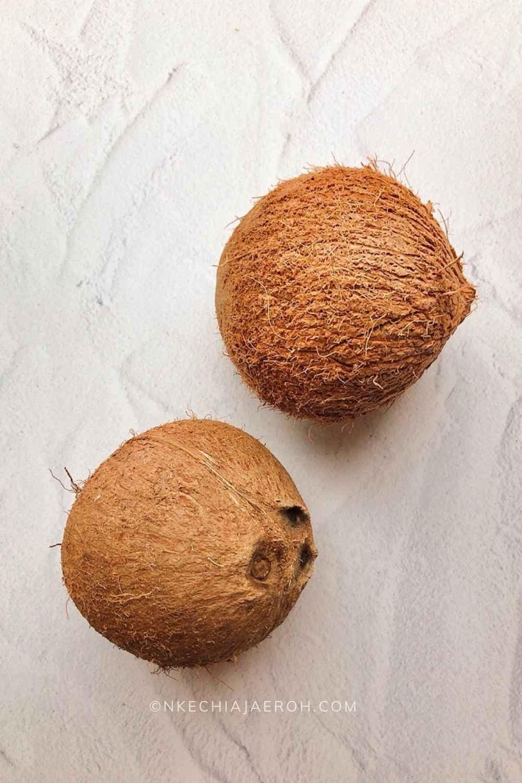 Fresh Raw Coconut