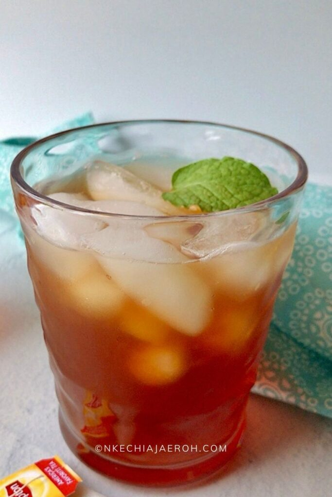 A refreshing glass of summer drink!