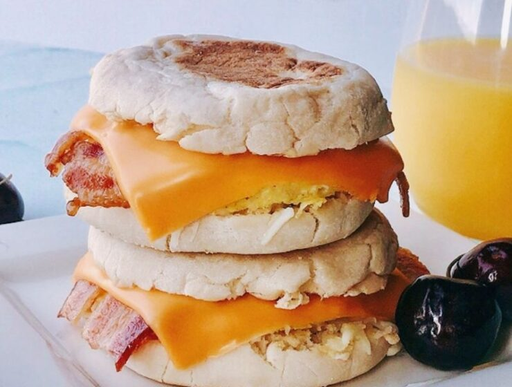 Easy and tasty make-ahead freezer breakfast sandwiches are excellent for breakfast meal prep. This recipe is equally ideal for grab-n-go breakfasts or back-to-school breakfasts, aka school morning breakfasts for kids. These freezer-friendly breakfast sandwiches are good for kids and adults! You can double batch, make ahead and freeze! And you don't have to worry about breakfast for a long time. #breakfast #breakfastsandwiches #eggmcmuffins #freezerbreakfastsandwiches #Freezerbreakfast