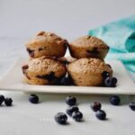 Vegan oatmeal blueberry muffins are the easiest healthy gluten-free breakfast muffins you can make! These vegan muffins are moist, fluffy, tasty, and full of sweet flavors from juicy blueberries, maple syrup, and bananas. They're also gluten-free, nut-free, refined sugar-free, and perfect for healthy breakfast meal prep. The best part is that you can double batch for grab-n-go breakfasts/on-the-go breakfasts, back-to-school breakfasts, and snacks! Also, it cooks for under 30 minutes! Listen, make these ahead and freeze for busy mornings.