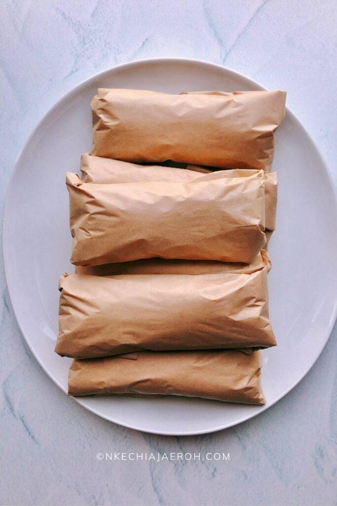 wrapped up burritos